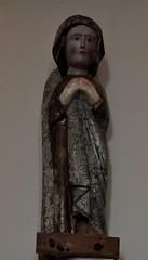 Astorga (León). Museo de los Caminos. Virgen de las Nieves, siglo XIII. Procede de Villarmeca (santi abella) Tags: astorga león castillayleón españa museodeloscaminos palacioepiscopaldeastorga