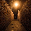 365.22 - Light at the end of the alley (AmyGStubbs) Tags: 2018 22jan18 365the2018edition 3652018 alley day22365 dunchurch epl3 night olympus olympus1442f3556iirmsc outandabout path walking