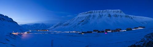 Longyearbyen og Nybyen