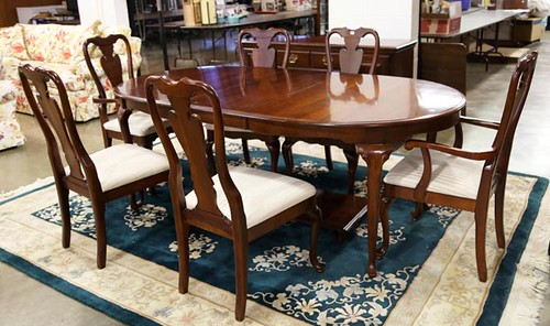 Cherry Table w/ 6 Chairs ($336.00)