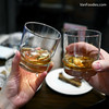 Whisky (VanFoodies) Tags: granvilleroom whisky dineoutvancouver dineoutvancouver2018 grilledcheese donnellygroup prawns pannacotta empanada winepairing wine porkbelly