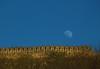 Amer fort (Debmalya Mukherjee) Tags: amerfort jaipur debmalyamukherjee canon550d 18135 fort moon rise rajasthan