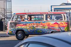 How to make lane changes in SF (satoshikom) Tags: canoneos6dmarkii canonef70200mmf4lisusm sanfranciscomaritimenationalhistoricalpark fishermanswharf sanfrancisco weekend street volkswagen bus sanfranciscolovetours