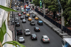A View From Above (benjamin.t.kemp) Tags: urban cars blur city travel guayaquil