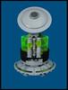 Light Hover Tank (Karf Oohlu) Tags: lego moc minifig alien hovertank greenalien scifi