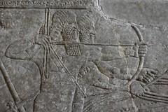 Assyrian lion hunt, Nimrud, 883-859 BCE; Pergamon Museum, Berlin (3) (Prof. Mortel) Tags: germany berlin pergamonmuseum assyrian nimrud