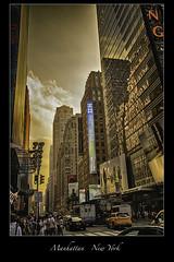 Manhattan - New York City (vonhoheneck) Tags: newyork manhattan city usa schölkopf schoelkopf canon eos6d bigapple eastriver hudson themet centralpark nyc water beach river sea sunset nypd timesquare people