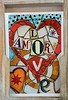 Happy Valentine´s Day (Niwi1) Tags: nikon valentine love amor heart herz liebe barcelona spanien spain travel trip postkarte postcard mosaik