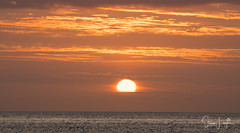 2017 - 12-28 - Landscape - Moana - Sunset 02.jpg (stevenlazar) Tags: pylons beach ocean sunset australia colour water moana waves jettyruins adelaide 2017 southaustralia clouds