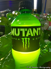 Super Soda (R. Sawdon Photography) Tags: green glow glowing mutant soda monster pop drink scary liquid bottle weird