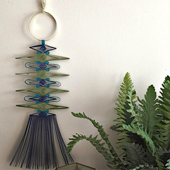 Mid Century Modern Paper Macrame Wall Hanging by Griffin Carrick (all things paper) Tags: wallhanging paperart papercraft papermacrame macrame paperquilling quilling boho retromodern