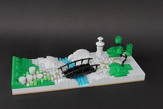 Lego zen garden - atana studio