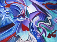 Mayan Phoenix (MattCrux) Tags: psychedelic lsdtrip acid abstract trippy colorful rainbow lsd strange weird drug drugs weed high trip love acrylic painting acrylicpainting traditional canvas paint painted artist drawing illustration art arts expressive different beautiful artsy creativity creative