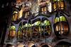 Casa Batlló - at night (Fnikos) Tags: building architecture decor decoration column wall window balcony modernismo casabatlló night nightview gaudí barcelona people outdoor