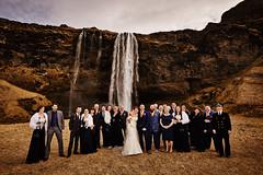 Danielle & Ian (LalliSig) Tags: iceland wedding photographer april spring people portrait portraiture brúðkaup brúðkaupsljósmyndari seljalandsfoss water waterfall