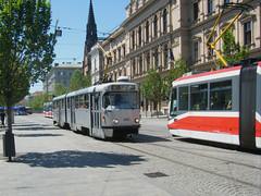Brno tram No. 1052 (johnzebedee) Tags: tram transport publictransport vehicle brno czechrepublic johnzebedee tatra tatrak2