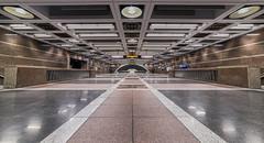 (Joe Huckleberry) Tags: seattle nikon pioneersquarestation trainstation urban downtown underground wideangle architecture building d610 samyang 14mm