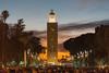 Sunset in Marrakech (A.Keskin) Tags: morocco sunset koutoubiamosque city people minaret colors marrakech evening jamaaelfenna