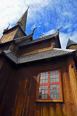 Church detail (Thomas Roland) Tags: europe europa travel rejse holiday tourist tourism norway norge noreg lom oppland stavkirke stave church old viking wood timber outdoor