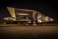 Avro's biggest wing (Nimbus20) Tags: vulcan avro bird bomber raf essex tle charter photo night