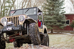 Jeep & Snow -19 (sammycj2a) Tags: willys jeep snow nikon rockcrawler winch factor55 ogden utah