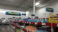 New Pharmacy and Restrooms Signage (Retail Retell) Tags: sams club southaven ms desoto county retail membership warehouse store remodel