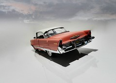 1956 Lincoln Premiere Hardtop Coupe - The Danbury Mint 1:24 (BlueAtlantic38) Tags: lincoln premiere coupe hardtop usa ford americancar 1956 miniature scalemodel hobby collection 124 v8 thedanburymint