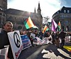 save Afrin (dr_scholz@ymail.com) Tags: refugee germany bonn protest demoncracy outdoors marketplace cathedral flags crowd backlight leicam240 superelmarm21mmasphf34