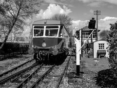 A 1940s Great Western Branch Line (Jason_Hood) Tags: gwr greatwesternrailway railway railroad railcar no22 didcotrailwaycentre