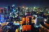 Bangkok @ Night (ThailandPaul -ประเทศไทย พอ) Tags: thailand asia thai bangkok krunthep hotel hilton conrad