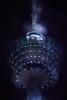 KL Tower (bdrc) Tags: asdgraphy kualalumpur kuala lumpur kl malaysia city urban tower building structure architecture landmark travel visit destination night light illumination bokeh merged kltower radio sony a6000 apsc minolta 75300mm f4556 tele zooom