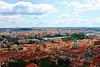 Golden City of 1000 Spires (JeffGuth) Tags: prague praha czechrepublic czech czechia europe centraleurope redroof landscape vltava vltavariver city cityscape praguecastle castle hrad