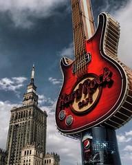 hard rock (yeezusr96) Tags: street amazing colours architecture sky poland hardrock warsaw