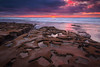 Potholes in a good way (PhotoJacko - Jackie Novak) Tags: sandiego lajolla potholes tidepools ocean sunset seascape sky reflection landscape tokina1628