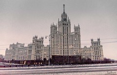 Kotelnicheskaya Embankment Building (Tony_Brasier) Tags: buildings bridge moscow russia cold snow nikond7200 sigma 1750mm lovely loving location