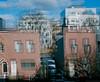 Falling Apart (GPhace) Tags: 120mm brooklyn fujicolorpro400h fuji mamiya mediumformat nyc newyorkcity rb67pros doubleexsposure