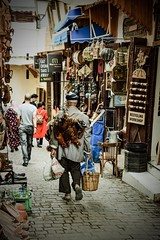 Morocco street (kimnnn) Tags: morocco medina travel localpeople chicken street old work market africa
