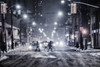 Snowy Night (A Great Capture) Tags: cityscape urbanscape eos digital dslr lens canon rebel t5i agreatcapture agc wwwagreatcapturecom adjm ash2276 ashleylduffus ald mobilejay jamesmitchell toronto on ontario canada canadian photographer northamerica torontoexplore winter l'hiver 2018 city downtown lights urban night dark nighttime cold snow weather snowing outdoor outdoors streetphotography streetscape photography streetphoto street calle darkness nocturnal illuminate lighting steam cars traffic crossing walk bike bicycle storm season seasonal