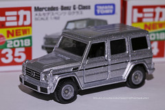 Tomica 35 (2018), Mercedes-Benz, G-Wagon (Daryl Chapman Photography) Tags: tomy mercedes benz gwagon hongkong china sar canon 5d mkiii 100mm macro diecast toy