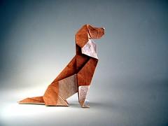 Beagle - Seth Friedman (Rui.Roda) Tags: origami papiroflexia papierfalten dog chien cão cachorro perro beagle seth friedman