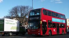 Arriva London T60 on route 264 Mitcham 17/02/18. (Ledlon89) Tags: london bus buses tfl transport londonbus londonbuses londongeneral arrivalondon londonuntied metrobus goaheadgroup mitcham londontransport