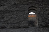 dal cortile del castello di Porciano (Alberto Cameroni) Tags: toscana casentino stia porciano tramonto sera castello porta mura muro castellodiporciano leica leicaxtyp113 poesia kavafis