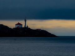 A Break in the Clouds and Light at the Edge (geoffwi100) Tags: clouds vancouverisland pacific canada victoriabc cloverpoint lighthouse