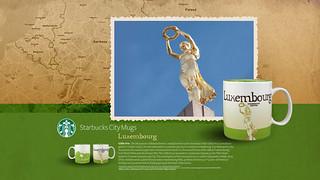 Starbucks City Mug Luxembourg Desktop Wallpaper