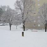 Jardins de la Grand Rue sous la neige thumbnail