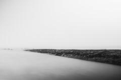 Oostende (smeert) Tags: oostende golfbreker ostend breakwater mist fog