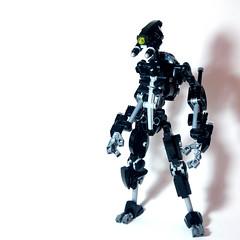 V.A.H.K.I. Basic Unit (Johann Dakitsch) Tags: lego moc bionicle vahki metrunui military droid mech robot scifi ccbs toy custom creation