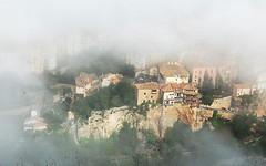 Cuenca despertando de la niebla (pepebarambio) Tags: nieblas cuencaespaña ciudadpatrimoniodelahumanidad nwn