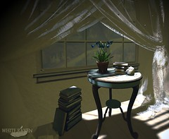 Quiet Time (RebylFaith) Tags: secondlife sl decor table home accent furniture shopping