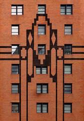 45 Columbus Ave - Joseph A. Martino Hall (TheMachineStops) Tags: 2018 outdoor nyc manhattan newyorkcity architecture windows brick red landmark artdeco building 10023 zip10023 lincolnsquare columbusave architecturaldetails fordhamuniversity lincolncentercampus window geometric lines
